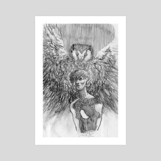owl & suzaku by soy