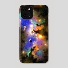 Nebula - Phone Case by Juan Carlos Guzmán