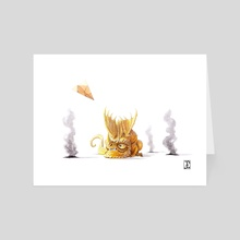 Trial by Fire - Art Card by The Modern Dragon