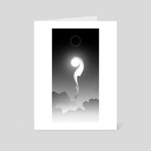Kitsune III - Art Card by Alex Grund