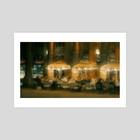 Restaurant Le Nemours, Paris - Art Print by Benjamin Bardou