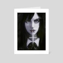 Priest's Daughter - Art Card by Jesse Johnson