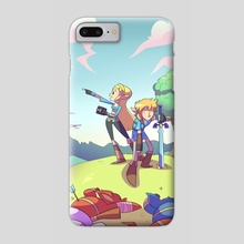 But what's over THAT hill? - Phone Case by Jon Nielsen
