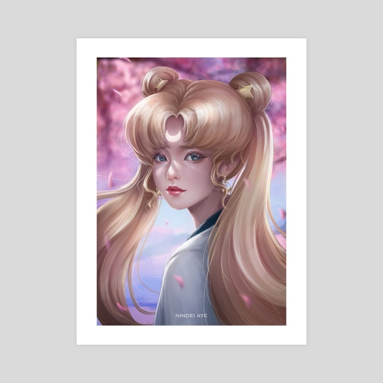 Sailor Moon by Nindei Aye