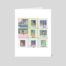 Windows - Art Card by Julia Zhuravleva