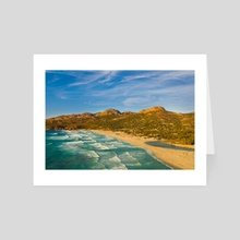 Day at the beach - Art Card by Marvin Diehl