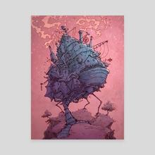 Moving Castle - Canvas by Batsquatch Studios