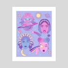 Amongst the Stars - Art Print by Keely Parks