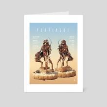 Portia 581 A - Art Card by Koen Koopman