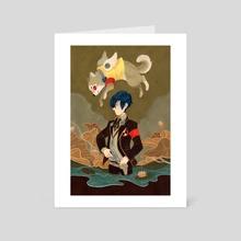 Minato Arisato - Art Card by Britney Liu