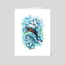 Long Journey - Art Card by Enkel Dika