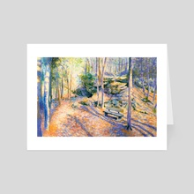 Rest Stop on the Peninsula - Art Card by Garth Laidlaw