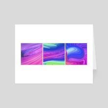 streamy - Art Card by drewmadestuff
