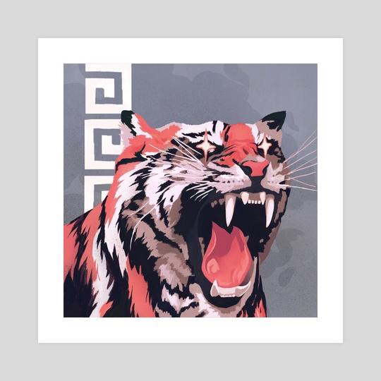 Tiger Roar by Alona Skidan