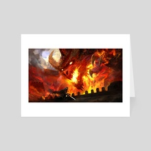 Dragon Fire - Art Card by Kekai Kotaki