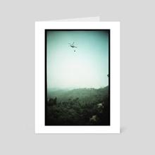 burning backlash 2 - Art Card by Manuel Zeeman