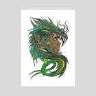 Dragon Master - Art Print by Anthony Pugh