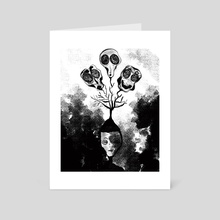 Thought Tree - Art Card by Steven Vs Nothingness