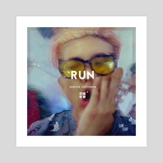 RUN: Namjoon by Tiffany Nguyen