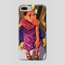 King Josiah - Phone Case by Michael Williams