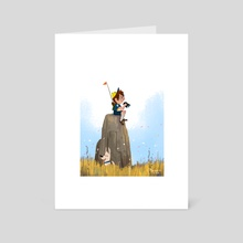 Observation Post - Art Card by Jez Tuya