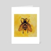 Murder Hornet - Art Card by Sami Mark
