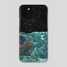 overwhelmed  - Phone Case by dfncy