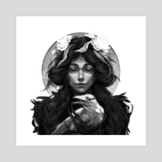 raven by Anastasia Nastiviya