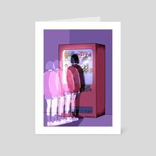 Drinks - Art Card by Wabi Sabi