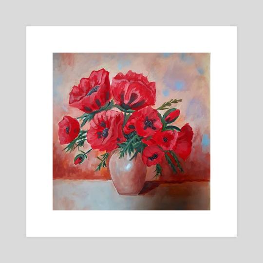 Poppies by Leonard TsaL