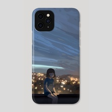 Rooftop - Phone Case by Carles Dalmau Lores