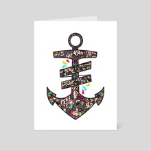 anchor - Art Card by yuli istanto