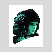 Leon The Professional - Canvas by Veronica Fish