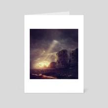 Post Apocalyptic Kuching 2 - Art Card by Julian Faylona
