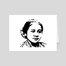 R. A. Kartini - Art Card by 103 cia