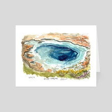 Silex Spring - Art Card by Emily Martin