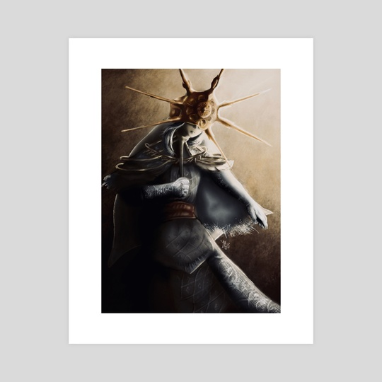 Dark Sun Gwyndolin  by Ytène  Kisters