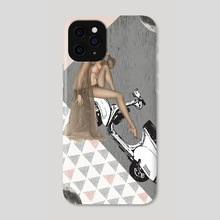 ON THE ROAD - Phone Case by Gloria Sánchez