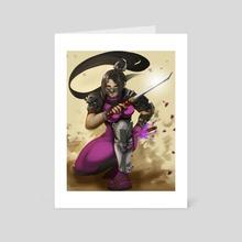 Taki - Art Card by monobun