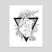 HerHeart - Canvas by Erika Talotta