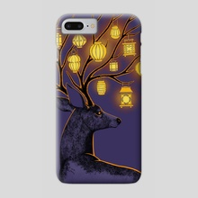 Night Guide - Phone Case by Indré Bankauskaité
