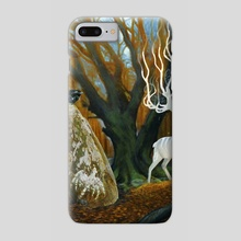 Yellow Wood - Phone Case by Diana Stein