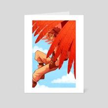 birdboy - Art Card by Kristin Kemper