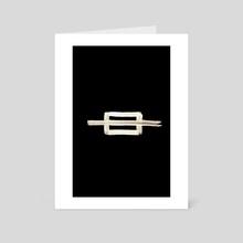 Electrical Symbols Short Set 020 Fuse - Art Card by Wetdryvac WDV