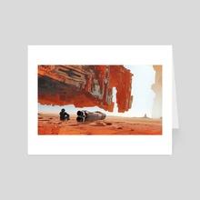 A Hundred Miles Off - Art Card by Kuldar Leement