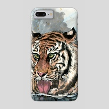 Tiger - 5 - Phone Case by River Han