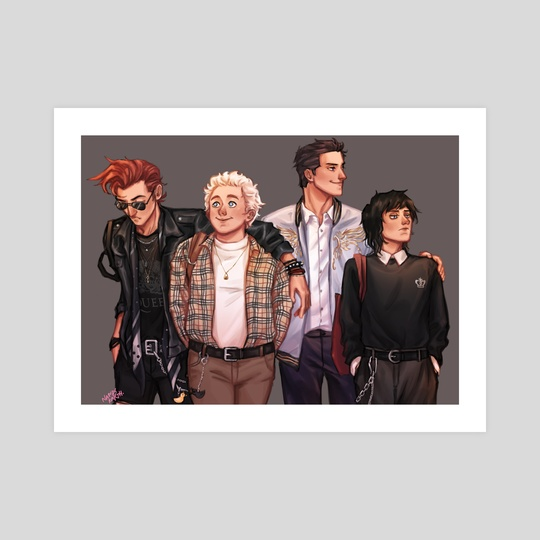 Good Omens University 2.0 by Nandskarth