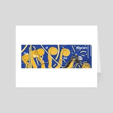 Win of the Warriors - Art Card by Chrissy Curtin