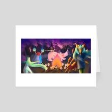 Magic Dance - Art Card by Erica Bortoloso