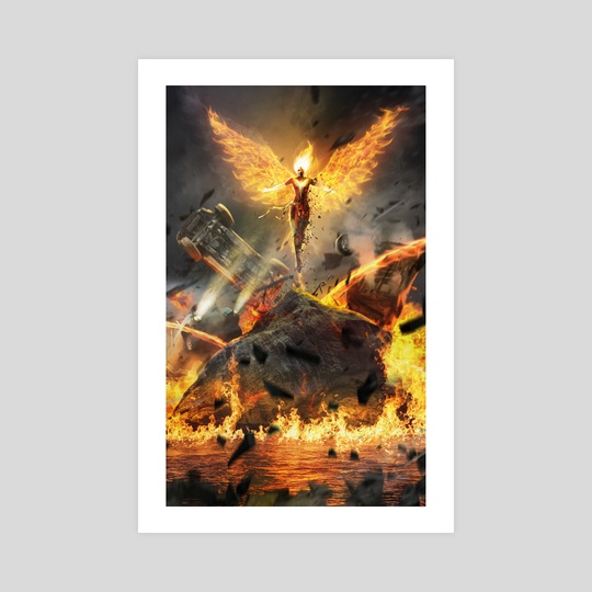Dark Phoenix Rises  by Kode Subject